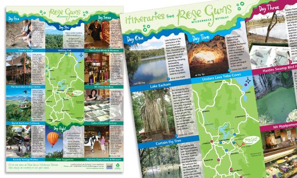 Rose Gums Wilderness Retreat | Itineraries Flyer