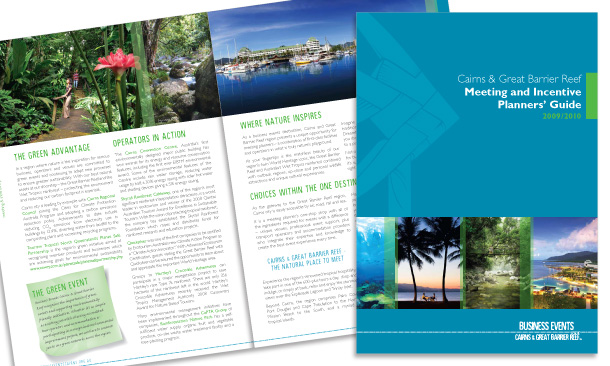 Business Events Cairns & Great Barrier Reef | 84-page 2009/2010 Meetings & Incentive Planners