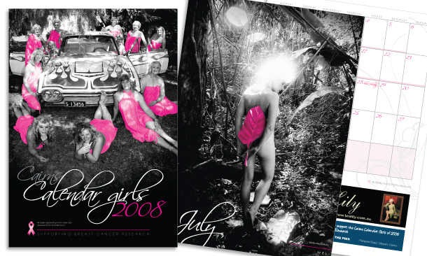 Cairns Calendar Girls | 2008 Calendar