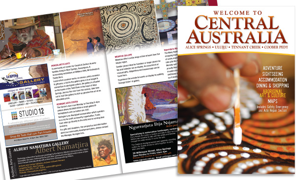 Australian Tourist Publications | Welcome to Central Australia Magazine