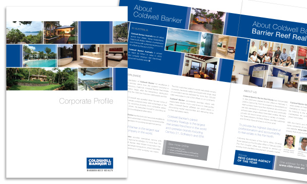 Coldwell Banker Barrier Reef Realty | 6-page Corporate Profile
