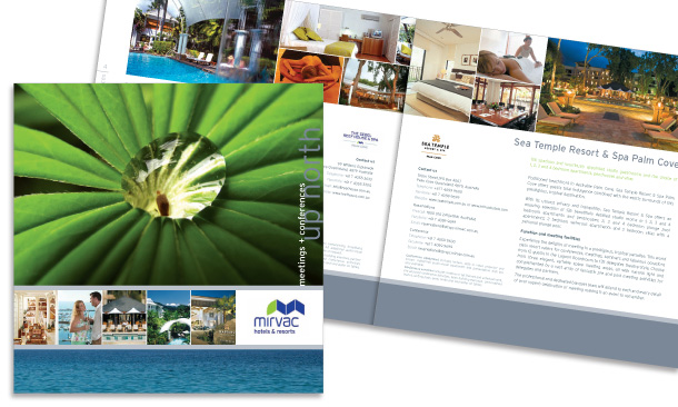 Mirvac Hotels & Resorts | 12-page Meetings and Conferences Booklet for Far North Qld