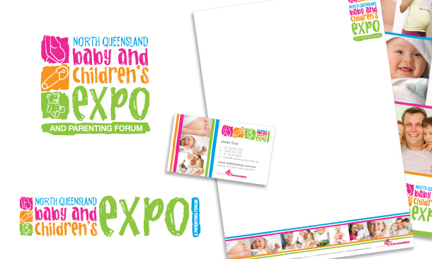 North Queensland Baby Expo | Corporate Branding